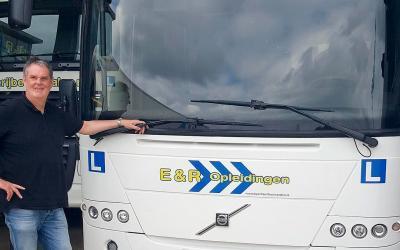 Geslaagd voor de opleiding tot buschauffeur